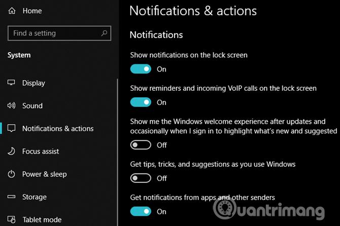 Vô hiệu hóa Windows 10