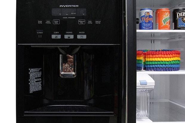 Tủ lạnh Hitachi 584 lít r-m700gpgv2 Side by side 3 cửa 11