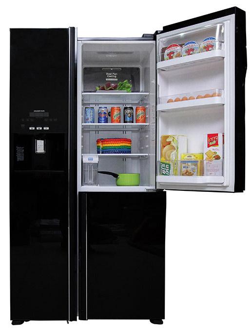 Tủ lạnh Hitachi 584 lít r-m700gpgv2 Side by side 3 cửa 3