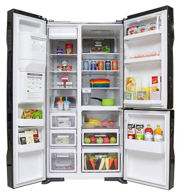 Tủ lạnh Hitachi 584 lít r-m700gpgv2 Side by side 3 cửa 5