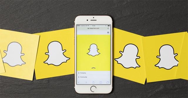 Cách hô biến thành khuôn mặt baby trên Snapchat