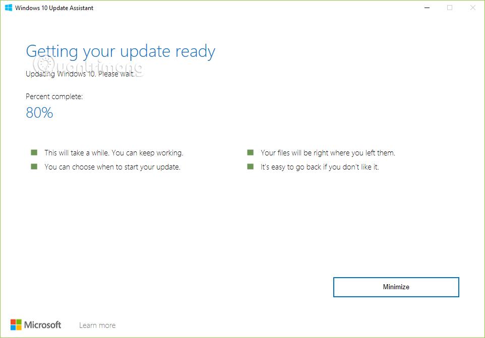 Cập nhật Windows lên bản mới nhất.