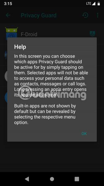 ROM tùy chỉnh giúp bạn riêng tư hơn