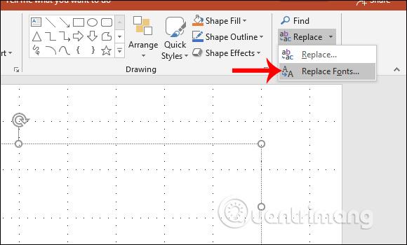 Cách đổi font chữ mặc định trong PowerPoint - Quantrimang com
