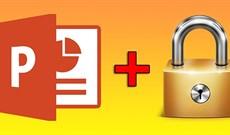 Cách tạo mật khẩu file PowerPoint