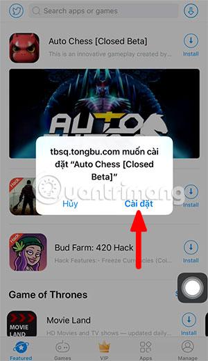 Cách tải và cài đặt Auto Chess Mobile trên điện thoại - Quantrimang com