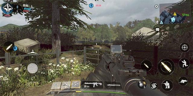 Call of Duty Mobile được định cấu hình iOS