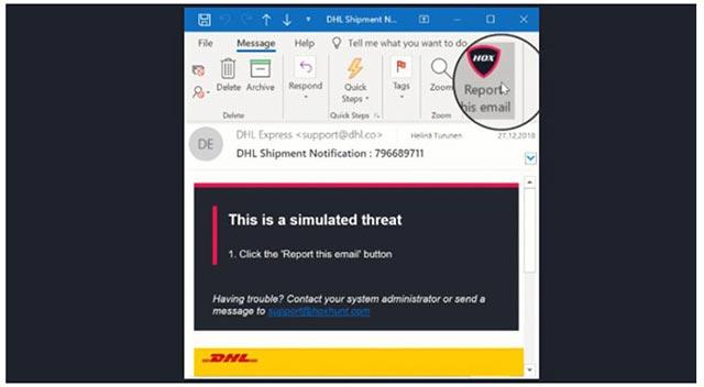 Prevent phishing attacks - Hoxhunt