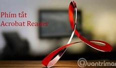 Phím tắt Acrobat Reader