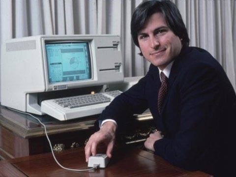 Steve và chuột máy tính