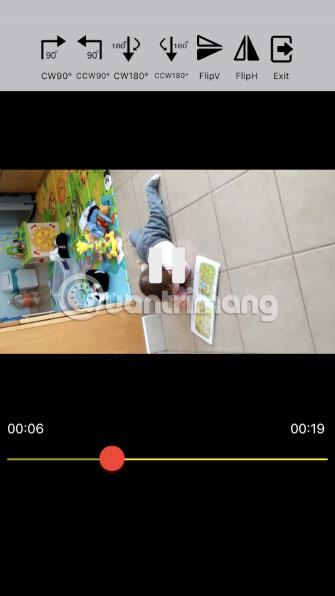 một số ứng dụng tồn tại có thể xoay video trên iPhone từ dọc sang ngang và ngược lại