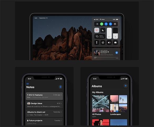 Concept của iOS 13