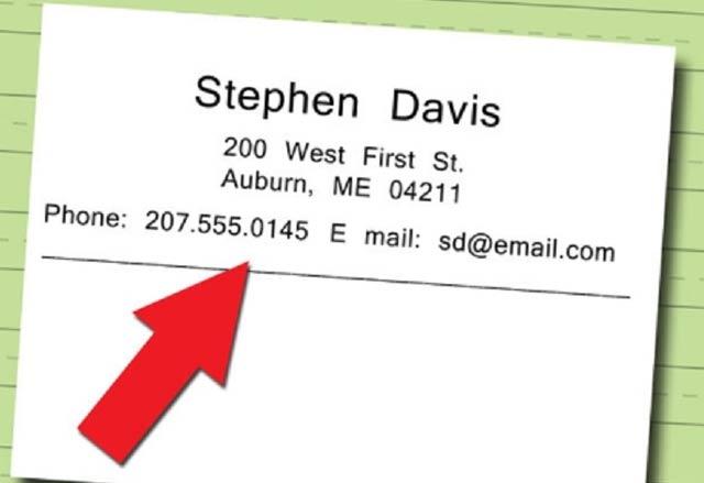 Viết địa chỉ bằng tiếng Anh