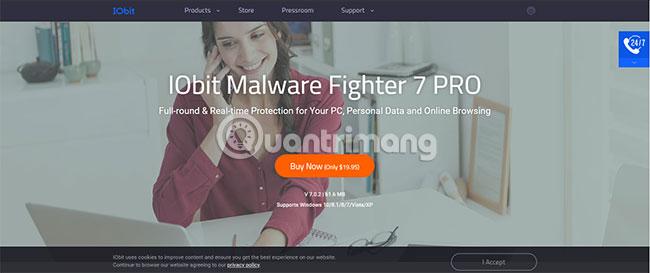 Review IObit Malware Fighter 7 và tặng bạn đọc 100 key bản Pro