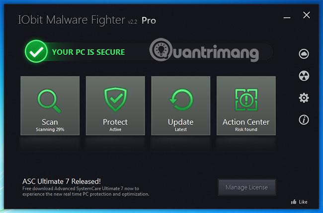 Review IObit Malware Fighter 7 và tặng bạn đọc 100 key bản Pro - Ảnh minh hoạ 2