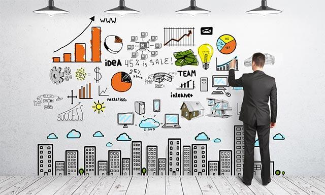 Tạo những hình ảnh một dự án khởi nghiệp tiềm năng, năng động và giàu năng lượng