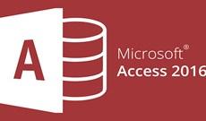 Tạo Cơ sở dữ liệu (Database) trong Access 2016