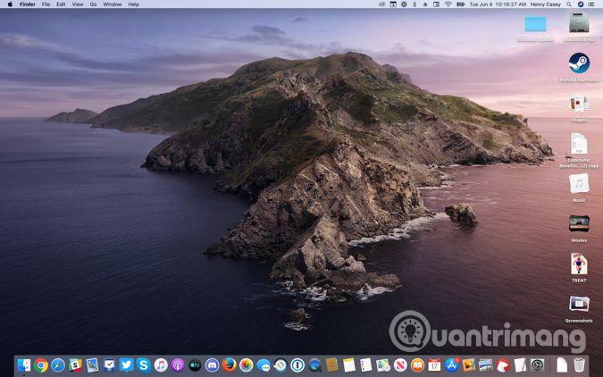 Mac runs beta of Catalina
