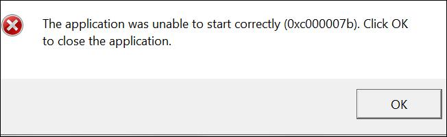Cách fix lỗi 0xc000007b trên Windows