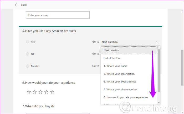 Hướng dẫn sử dụng Microsoft Forms - Ảnh minh hoạ 10