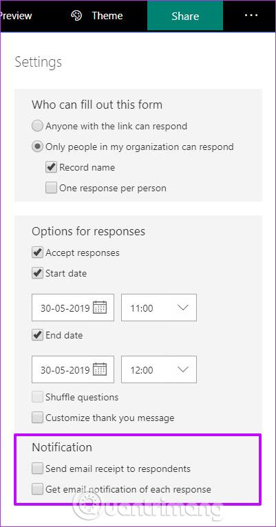 Hướng dẫn sử dụng Microsoft Forms - Ảnh minh hoạ 14