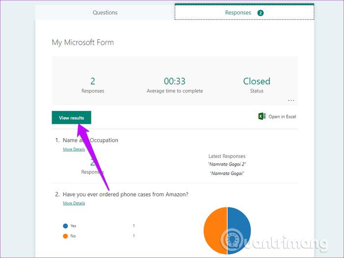 Hướng dẫn sử dụng Microsoft Forms - Ảnh minh hoạ 15