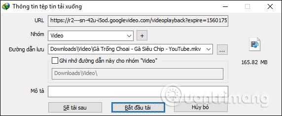 Tải file trên Chrome