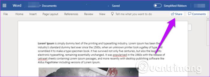 11 mẹo và thủ thuật sử dụng Microsoft Word Online bạn nên biết - Ảnh minh hoạ 2