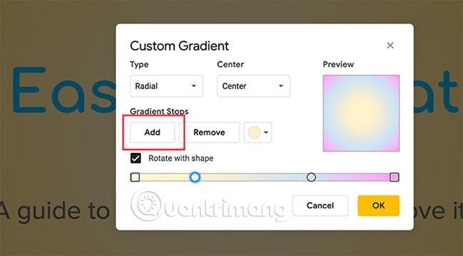 Cách tạo và sử dụng gradient tùy chỉnh trong Google Slides - Ảnh minh hoạ 12