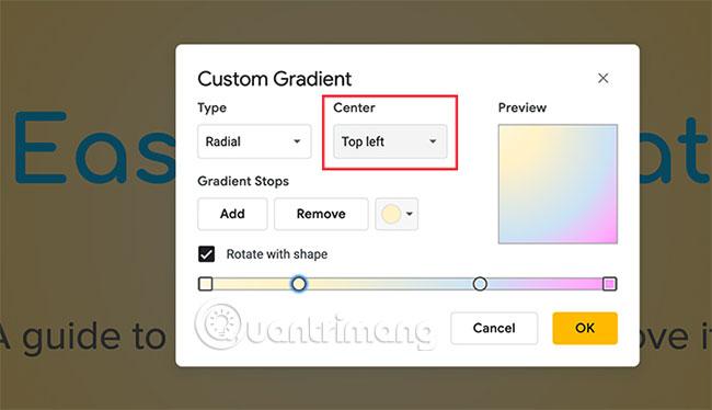 Cách tạo và sử dụng gradient tùy chỉnh trong Google Slides - Ảnh minh hoạ 14