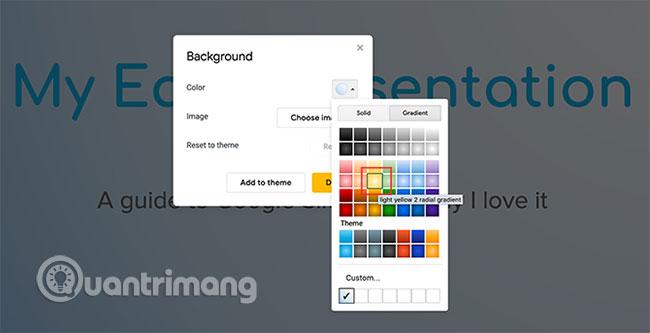 Cách tạo và sử dụng gradient tùy chỉnh trong Google Slides - Ảnh minh hoạ 4