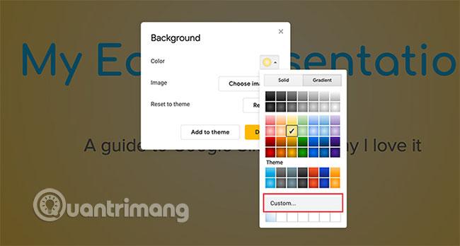 Cách tạo và sử dụng gradient tùy chỉnh trong Google Slides - Ảnh minh hoạ 5