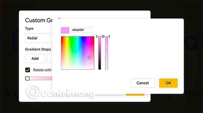 Cách tạo và sử dụng gradient tùy chỉnh trong Google Slides - Ảnh minh hoạ 9