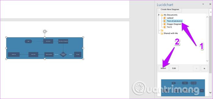 Cách nhập sơ đồ Lucidchart sang Microsoft Word và Excel - Ảnh minh hoạ 7