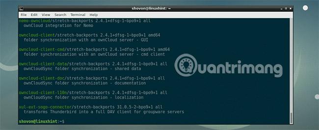 Kho lưu trữ Debian Backports