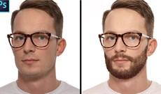 Cách tạo kiểu tóc và râu trong Photoshop