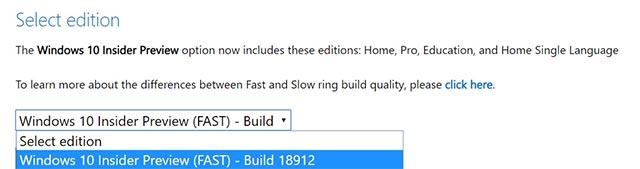 Đã có thể download các file ISO chính thức cho Windows 10 20H1