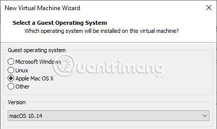 Tạo máy ảo macOS Mojave bằng VMware