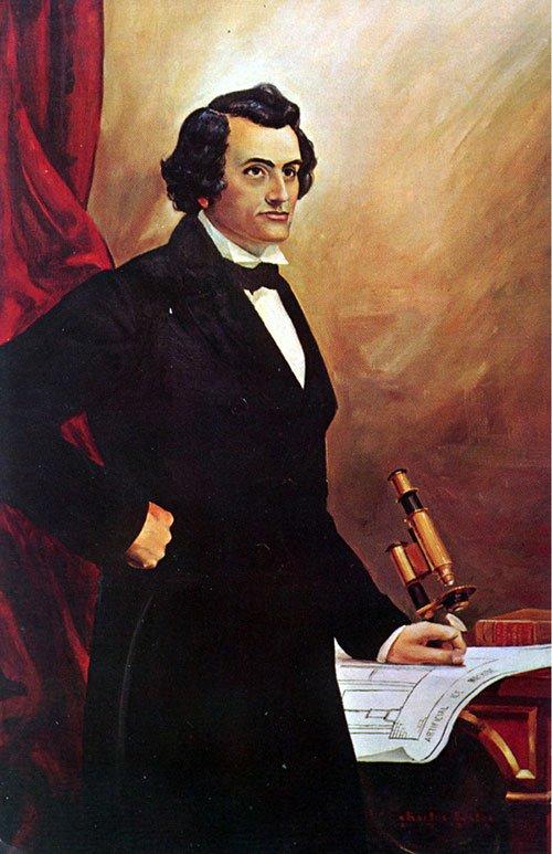 John Gorrie (1803-1855), người đưa ra ý tưởng đầu tiên về hệ thống làm mát không khí.
