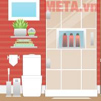 Nên chọn quạt hút mùi nhà vệ sinh âm trần hay âm tường?