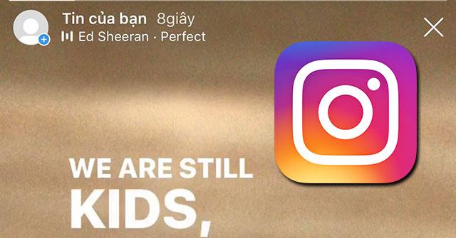 Hướng dẫn chèn lời bài hát vào Tin của bạn trên Instagram