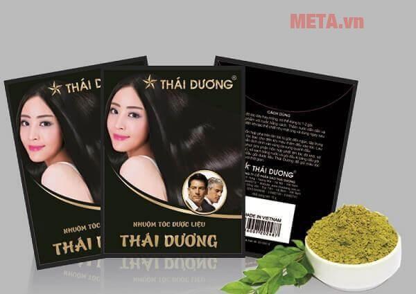 Thuốc nhuộm tóc dược liệu Thái Dương (hộp 5 gói)