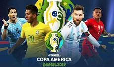 Lịch thi đấu Copa America, bảng xếp hạng Copa America 2019