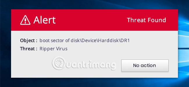 Cách bảo vệ chống virus Boot Sector trong Windows