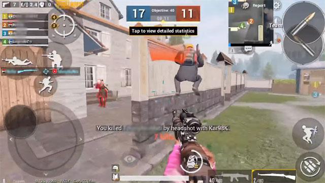 Đề phòng kẻ thù của Team Deathmatch PUBG Mobile