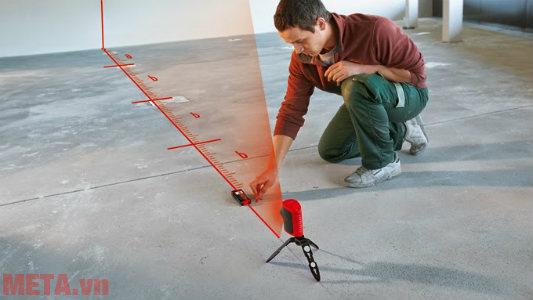 Máy cân mực laser đo đạc nhanh chóng, chính xác.