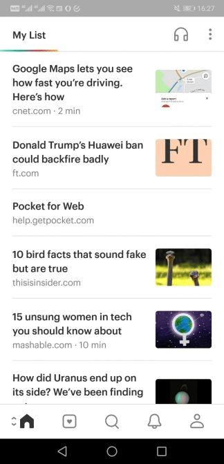 Danh sách bài báo đọc ngoại tuyến