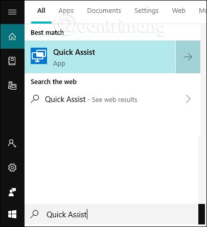 Tìm kiếm Quick Assist
