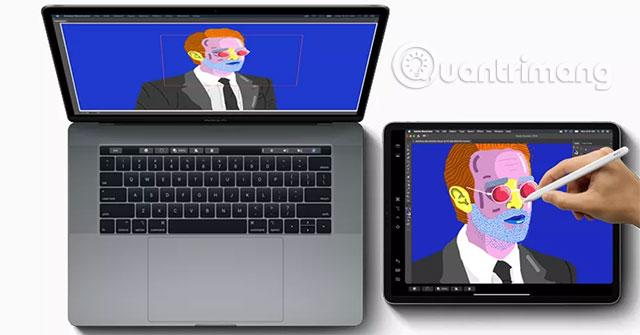 Dùng iPad làm màn hình phụ