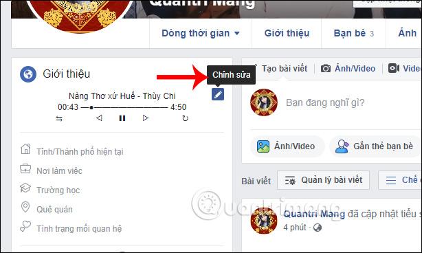 Cách tạo trình phát nhạc trong tiểu sử Facebook - Ảnh minh hoạ 5